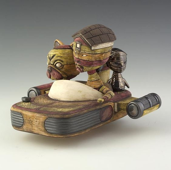 """"""" sculptural work"""" by  #artist Calvin Ma  