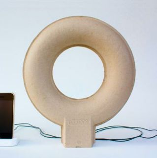 A speaker made from ... recycled paper! wow.