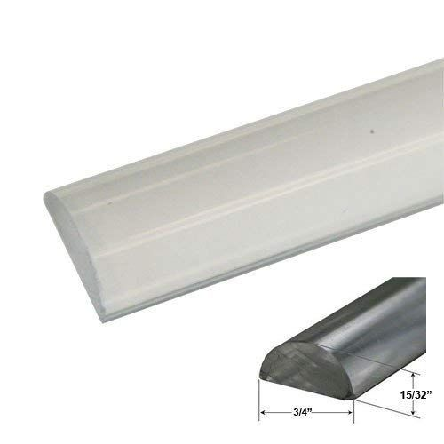 3 4 Wide By 15 32 High Clear Acrylic Frameless Shower Threshold 35 In Long Review Frameless Shower Shower Threshold