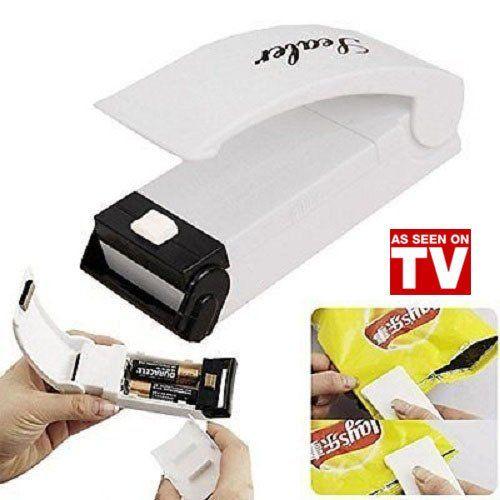 Food Sealer Household Mini Sealing Machine Heat Bag Sealer Capper Food Resealer