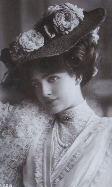 El Velo de la Reina Mab: Mujeres de otra época: Miss Lily Elsie