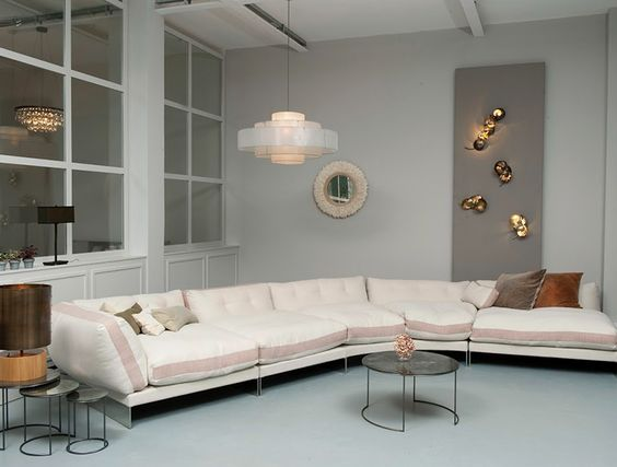 Ochre's furniture, custom chandeliers, lighting, and accessories are both rustic and ethereal