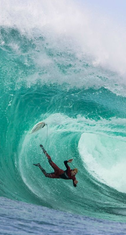 Mark Mathews has long been known as one the most fearless watermen the sea has ever seen.