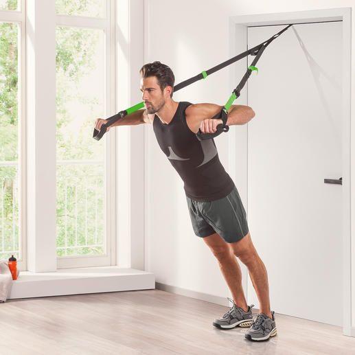 Schildkröt® fitness slingtrainer - Optimale workout voor het hele lichaam: met het eigen lichaamsgewicht als trainingsweerstand.