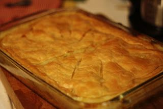 Homemade Chicken Pot Pie - One of the best comfort foods on the planet!