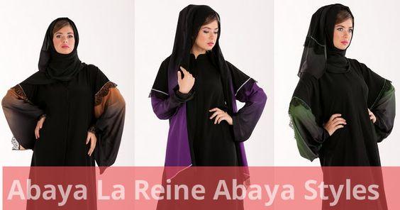 Most current Abaya Designs 2011-2012|La Reine Abaya Styles | She9pk