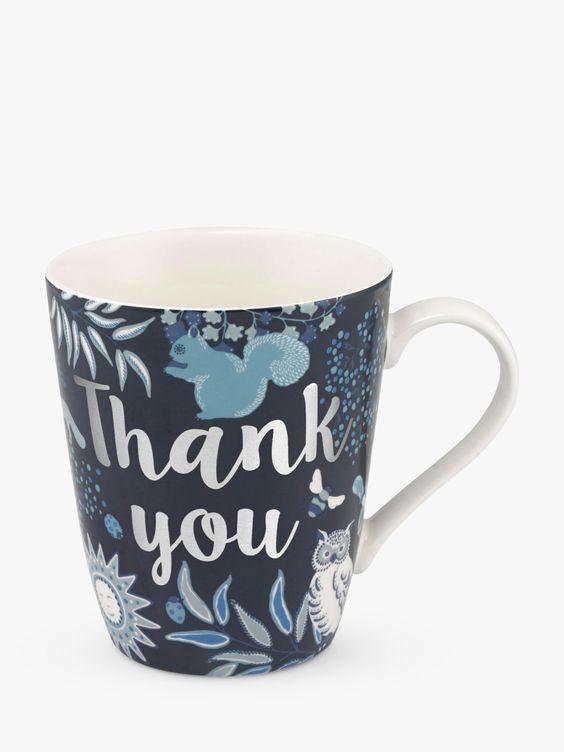 """Thank You"""" Printed Mug"""