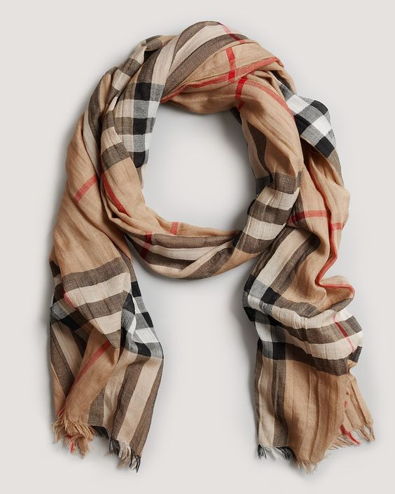 plaid scarf jewelry and classic on