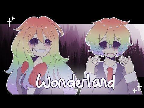 Wonderland Meme Collab With Wolfychu Youtube Animation Creator Anime Animation