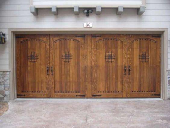 Wood Garage Door Plans Garage Pinterest Carriage