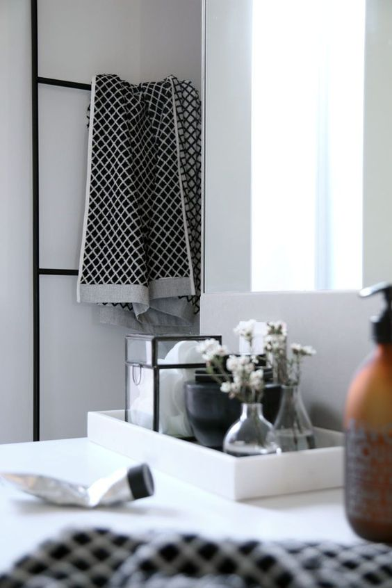 Photo/Styling: by Therese Knutsen - My bathroom: