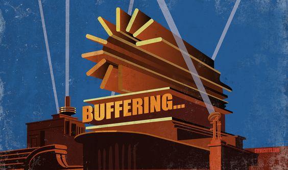 Steve Cutts - 20th Century...Buffering