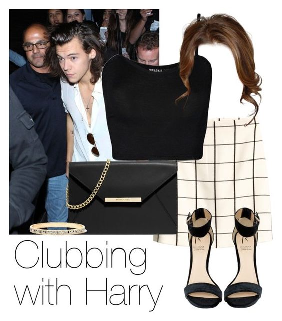 """""""REQUESTED: Clubbing with Harry"""" by style-with-one-direction ❤ liked on Polyvore"""