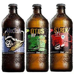 Kit Degustação 3 Cervejas Coruja - The Beer Planet - mês passado entrei pro clube da cerveja e essas foram as primeiras que recebi