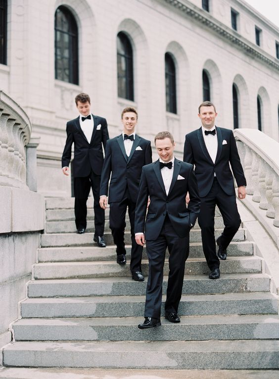 You're micromanaging the groomsmen: http://www.stylemepretty.com/2016/06/21/how-not-to-be-an-annoying-bride/