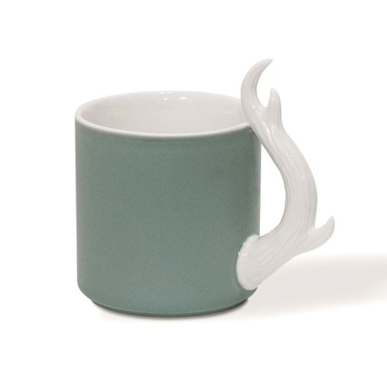 Antler Mug - with hot cocoa, please!