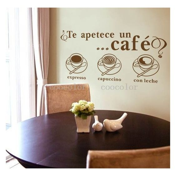 coffee wall art funny coffee wall art sticker home