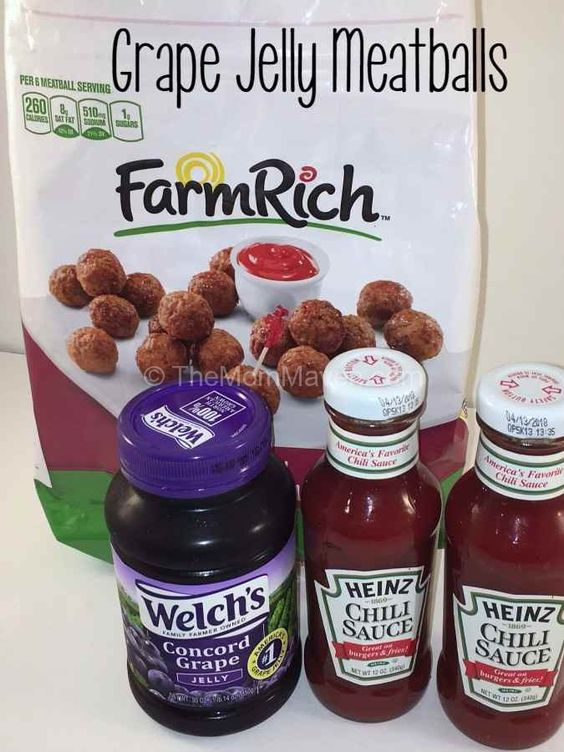Grape Jelly Meatballs aka Walt's Balls and easy and delicious crockpot appetizer for your next party.
