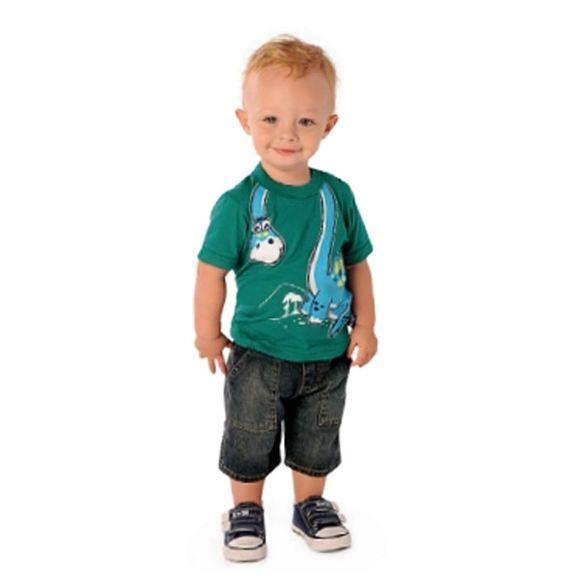 Camiseta Dinossauro. Tam: P-M-G-GG