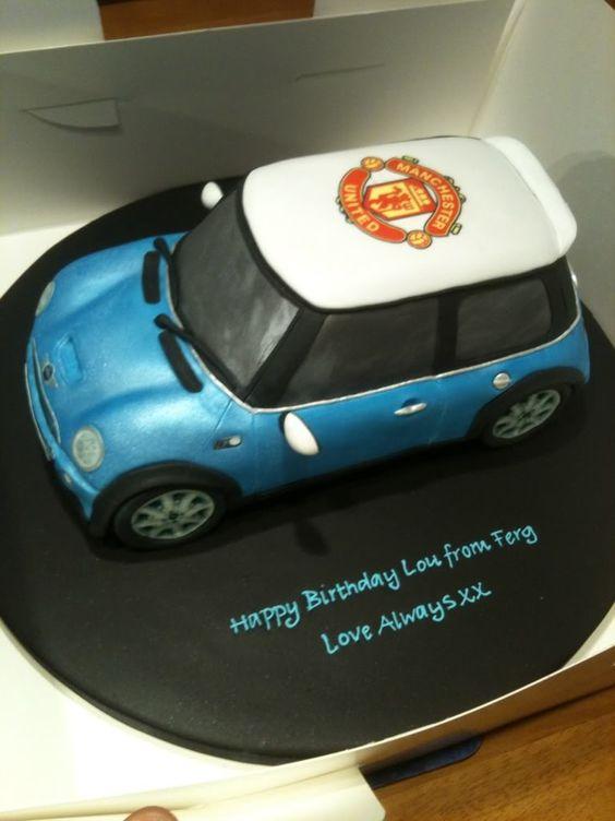 mini cooper cake - Google Search