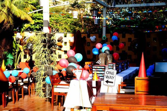 Liven up the party with colorful decor! #birthdayparty #trends #birthday