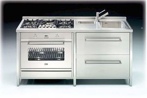 compact commercial kitchen