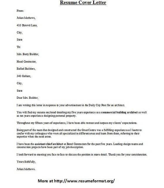 Great Resume Cover Letter] Cover Letter Example Associate