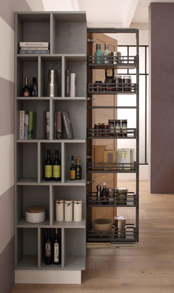 Colonna dispensa in una cucina Arrex. www.arrex.it  Idee ...