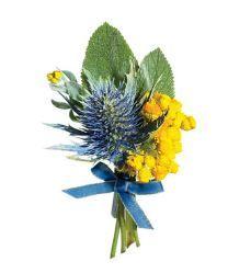 wedding flower boutonniere