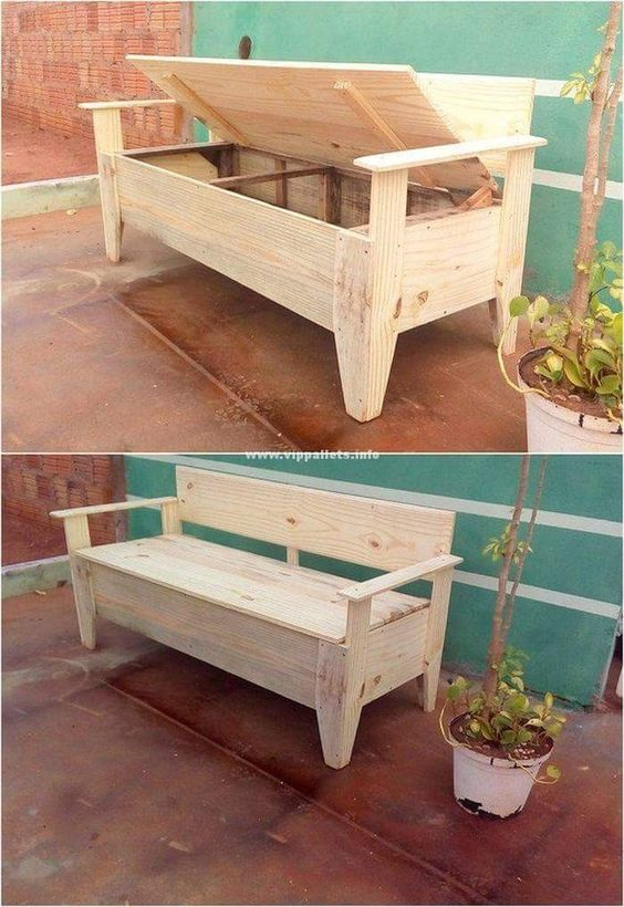 20 Awesome Furniture Ideas With Shipping Pallets Furniture