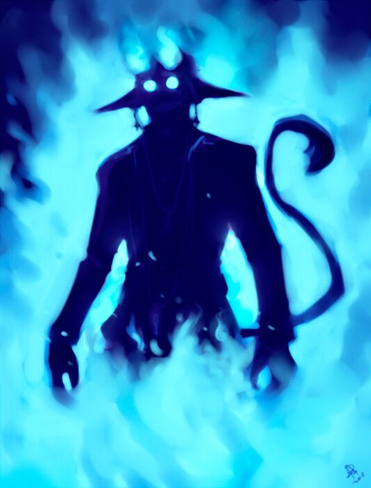 Ao no Exorcist - Satan. | Blue exorcist | Pinterest | Blue ...
