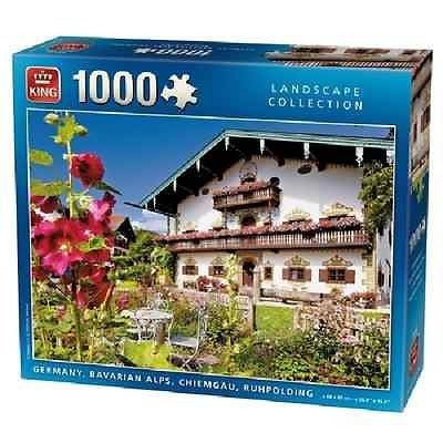 1000 Piece Germany Bavarian Alps Jigsaw Puzzle - Quickdraw Supplies