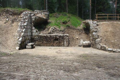 Taibon Agordino Fortificazioni della Linea Gialla Batteria Listolade Forte di Peden da Taibon | por Regione del Veneto, Dipartimento Cultura