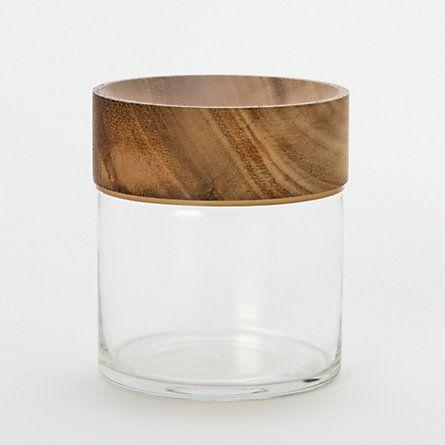 Teakwood Jar