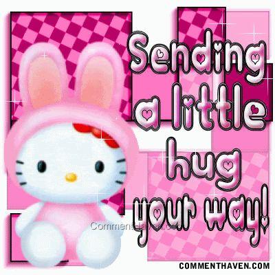 hugs hello kitty | hug hello kitty
