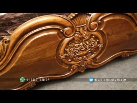 Episode 13 Home Stories Teak Wood Bed Set Youtube In 2020 Unique Wood Carving Wood Carving Furniture Wood Bed Set