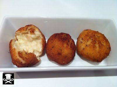 Croquetas de pollo lumagorri y queso Idiazabal