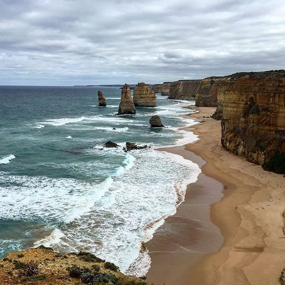 Because I'm not ready to be back home and working yet. #traveltuesday #12apostles #Australia #Victoria #greatoceanroad by alex.wirtzberger http://ift.tt/1ijk11S