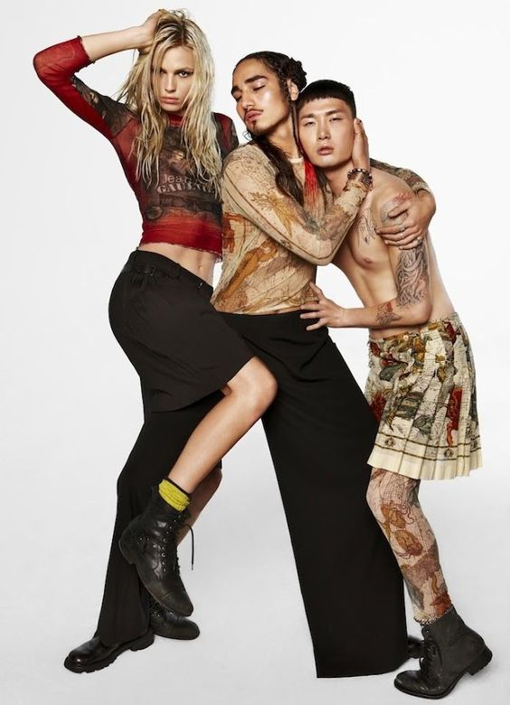 EDITORIAL: Huang Xiao Meng & Noma Han in (US) OUT Magazine, April 2012 2/3