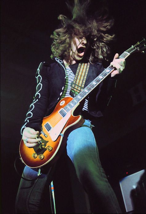 Brian Robertson. I loved his guitar work with Thin Lizzy