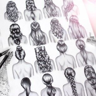I love how Kristina Webb does her hair, its so gorgeous