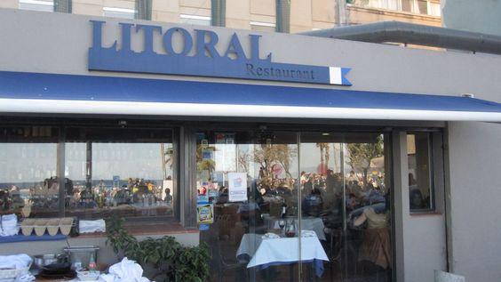 Descontraído e informal, almoço delicioso na Orla de Barceloneta