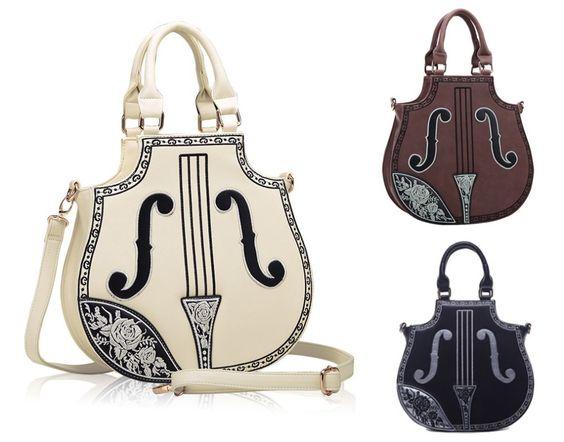 (Buy here: http://appdeal.ru/st7 ) Princess Sweet Lolita bag Harajuku package Japanese college style violin sharp bag embroidery handbag One shoulder bag for just US $38.80
