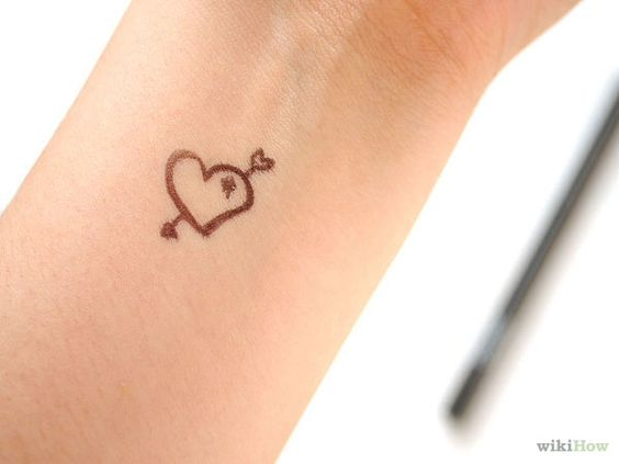 Pinterest the world s catalog of ideas for Fake tattoo hairspray