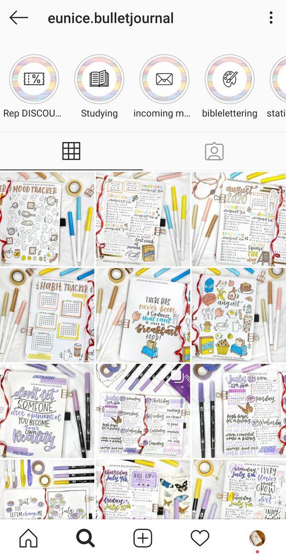 Découvez 20 comptes bujostagram et studygram !