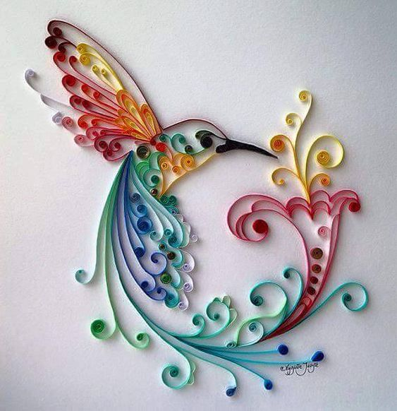 Pin by silvi as on crafts papel cart n cartulina for Big quilling designs
