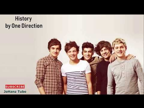 History By One Direction Lyrics Video Youtube