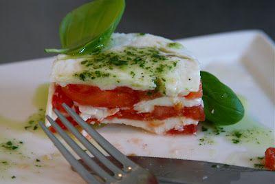 Mozzarella tomaattaartje van Ramon Beuk