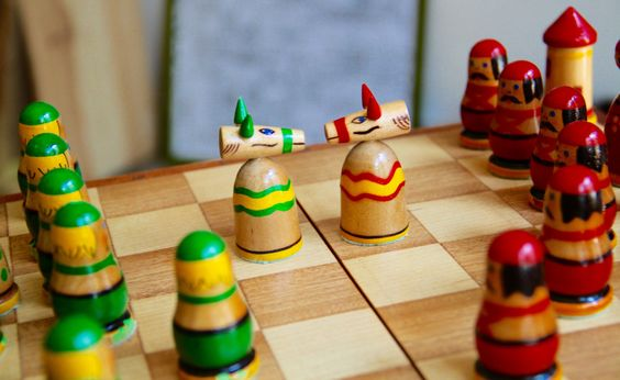 Vintage original chess set from Soviet Union-Brest(Belarus)-1970's. Schachspiel…
