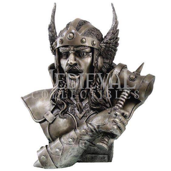Thor Bust Statue - CC8451 by Medieval Collectibles